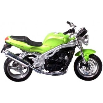 Maisto Triumph Speed Triple Green 1/18 Scale