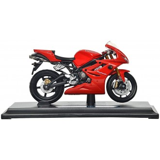 Maisto Triumph Daytona 675 Red 1/18 Scale