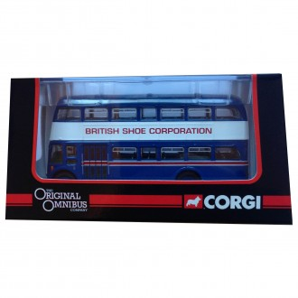 Corgi OOC Leyland PD3 Queen Mary British Shoe Corporation 1/76 Scale OM41912