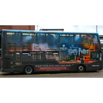 Corgi OOC Wright Eclipse Gemini 2 Harry Potter Warner Bro Studio Shuttle Bus 1/76 Scale OM46513