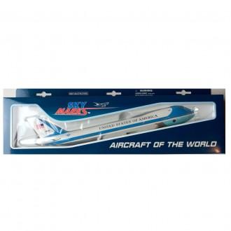 Skymarks Air Force One Boeing 747-200 29000 1/250 Scale SKR041