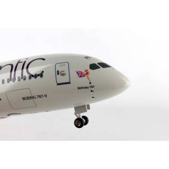 Skymarks Virgin Atlantic Boeing 787-9 1/200 Scale with Gear SKR887