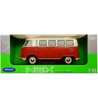 Welly 1963 Volkswagen T1 Bus 1/18 Scale 12531W