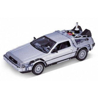 Welly Delorean Time Machine Back To The Future 2 OUTATIME 1/24 Scale 22441W