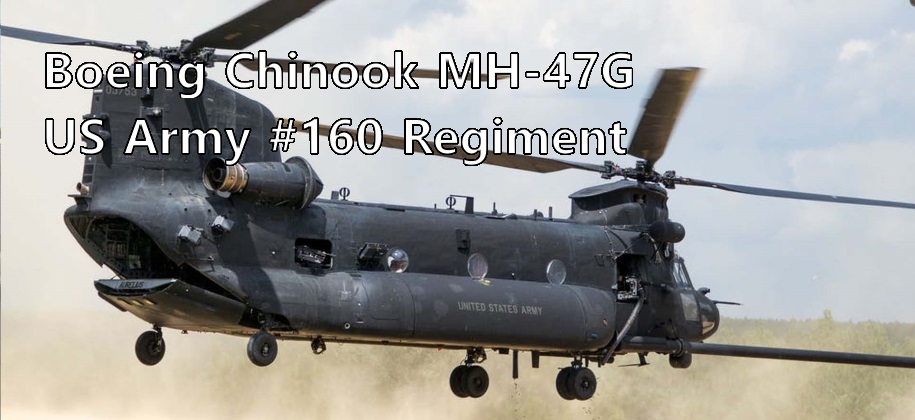 Chinook MH-47G 03740 United States Army #160 Regiment