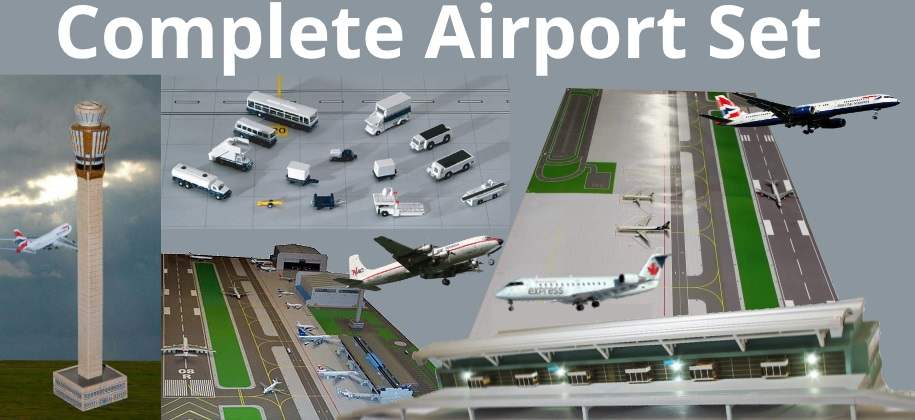 Complete Airport Set
