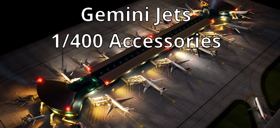 Gemini Jets 1/400 Accessories