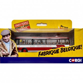 Corgi Only Fools and Horses - 'The Jolly Boys Outing' - Plaxton Panorama - Percy's Luxury Tours of Peckham 1:76 Scale CC02741