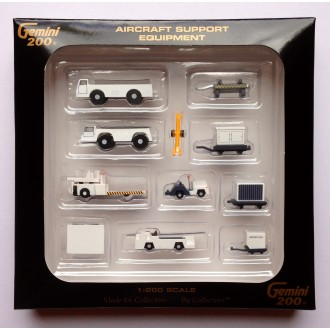 Gemini 200 Airport Accessories Combo Set 1/200 Scale G2APS450 G2APS451