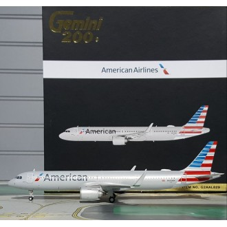 Gemini 200 American Airlines Airbus A321neo N400AN 1:200 Scale G2AAL829
