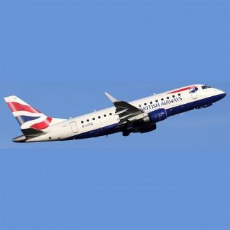 Gemini 200 British Airways Cityflyer Embraer 170 G-LCYG 1:200 Scale G2BAW560