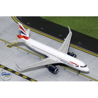 Gemini 200 British Airways Airbus A320neo G-TTNA 1:200 Scale G2BAW755