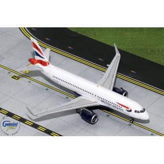 Gemini 200 British Airways Airbus A320neo G-TTNA 1:200 Scale G2BAW755