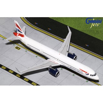 Gemini 200 British Airways Airbus A321neo G-NEOP 1:200 Scale G2BAW802