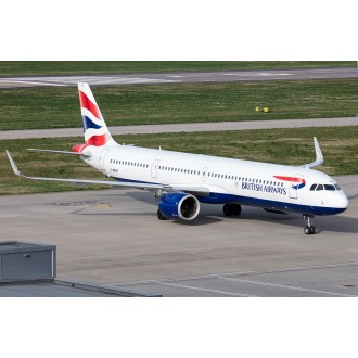 Gemini 200 British Airways Airbus A321neo G-NEOP 1:200 Scale G2BAW802