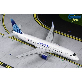 Gemini 200 United Express Embraer 175 N605UX 1:200 Scale G2UAL874