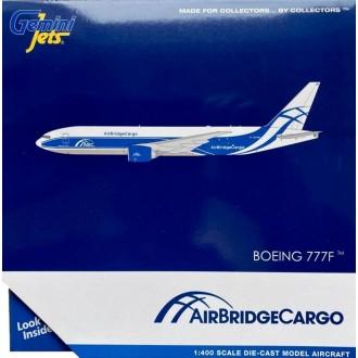 Gemini Jets AirBridgeCargo Airlines ЭйрБриджКарго Boeing B777-200LRF 777F VQ-BAO 1:400 Scale GJABW1949
