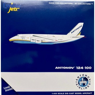 Gemini Jets Antonov Airlines AN-124 UR-82027 1:400 Scale GJADB1989