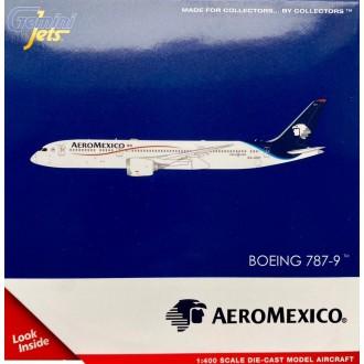 Gemini Jets Aero Mexico Boeing 787-9 Dreamliner XA-ADH 1:400 Scale GJAMX1964