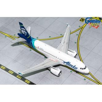 Gemini Jets Alaska Airlines Airbus A319 N530VA 1:400 Scale GJASA1851