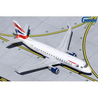 Gemini Jets BA Cityflyer Embraer 170 G-LCYG 1:400 Scale GJBAW1517