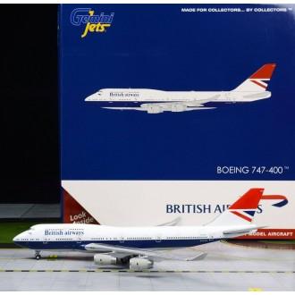 Gemini Jets British Airways 747-400 Negus Retro Livery 100 Year Anniversary 1919-2019 G-CIVB 1:400 Scale GJBAW1858