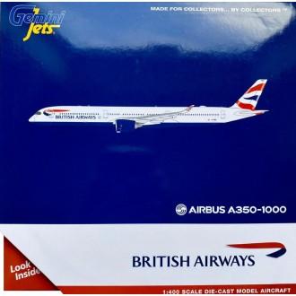 Gemini Jets British Airways Airbus A350-1000 G-XWBC 1:400 Scale GJBAW1933