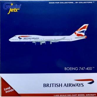Gemini Jets British Airways Boeing 747-400 G-CIVN 1:400 Scale GJBAW1934