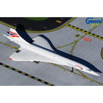 Gemini Jets British Airways Aerospatiale Concorde G-BOAB 1/400 Scale GJBAW1946