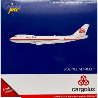 Gemini Jets Cargolux Boeing 747-400F LX-NCL Retro 1:400 Scale GJCLX1947