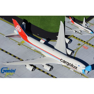 Gemini Jets Cargolux Boeing 747-8F LX-VCF with Optional Doors Open/Closed Configuration 1:400 Scale GJCLX1954