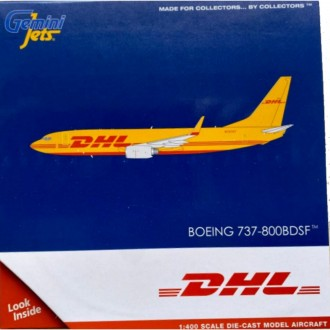 Gemini Jets DHL Swift Air Boeing 737-800 BDSF N737KT 1:400 Scale GJDHL1948