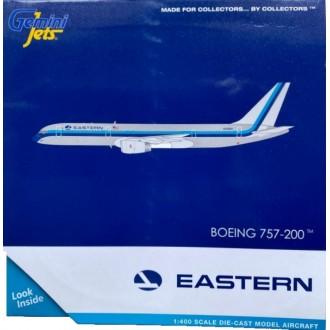 Gemini Jets Eastern Airlines Boeing 757-200 Polished Metal N502EA 1:400 Scale GJEAL1981