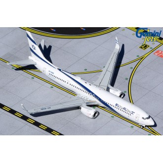 Gemini Jets EL AL Israel Airlines Boeing 737-900ER 4X-EHD Peace 1:400 Scale GJELY1956