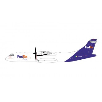 Gemini Jets FedEx Express Aerospatiale ATR-72-600F EI-GUL 1:400 Scale GJFDX1986