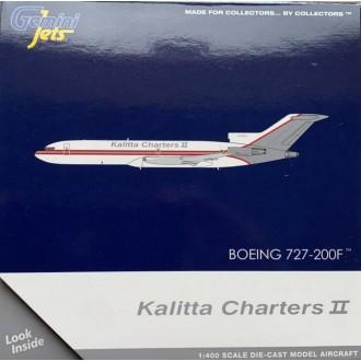 Gemini Jets Boeing 727-200 Kalitta Charters N726CK 1:400 Scale GJKFS1957