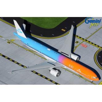 Gemini JetsKLM Royal Dutch Airlines Boeing 777-300ER PH-BVA Orange Pride/KLM 100 1:400 Scale GJKLM1905