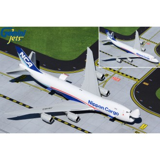 Gemini Jets Nippon Cargo Airlines NCA Boeing 747-8F JA14KZ with Optional Doors Open/Closed Configuration 1:400 Scale GJNCA1897 PREORDER