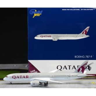 Gemini Jets Qatar Airways Boeing 787-9 Dreamliner A7-BHA 1:400 Scale GJQTR1915
