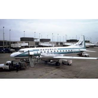 Gemini Jets Republic Convair CV-580 N2728R 1:400 Scale GJREP1407