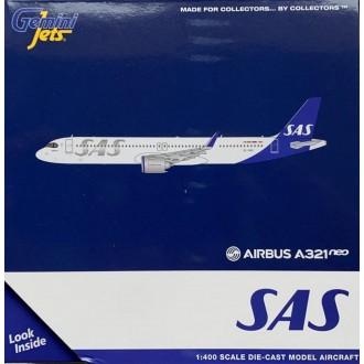 Gemini Jets Airbus A321neo SAS Scandinavian Airlines System SE-DMO 1:400 Scale GJSAS1944