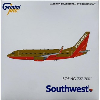 Gemini Jets Boeing 737-700 Southwest Airlines N714CB Classic Retro Livery 1:400 Scale GJSWA1962