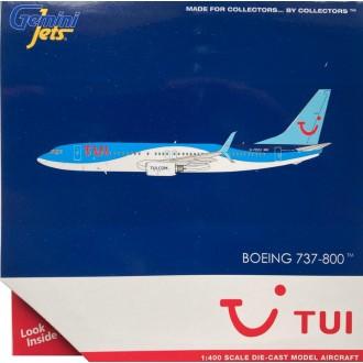 Gemini Jets TUI Boeing 737-800 G-FDZU 1:400 Scale GJTOM1938