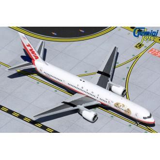 Gemini Jets TWA Trans World Airlines Boeing 757-200 N725TW 1:400 Scale GJTWA1982