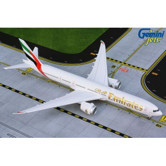 Gemini Jets Emirates Boeing 777-9X New Tooling 1/400 Scale GJUAE1875
