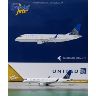 Gemini Jets United Express Embraer 175 N163SY 1:400 Scale GJUAL1728