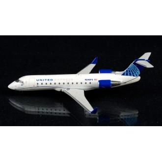 Gemini Jets Bombardier CRJ-200LR United Express N246PS 1:400 Scale GJUAL1966