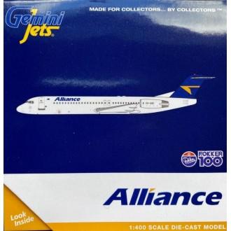 Gemini Jets Alliance Airlines Fokker F-100 VH-UQC 1:400 Scale GJUTY1832