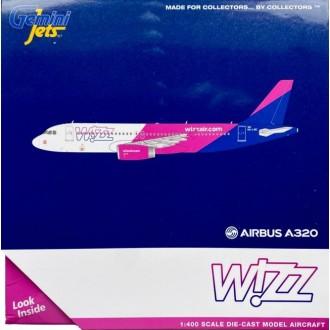 Gemini Jets Wizz Air Airbus A320-200 HA-LWC 1:400 Scale GJWZZ1978