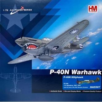 Hobby Master P-40N Kittyhawk FX-760 112 Squadron RAF 1944 1:72 Scale HA5507